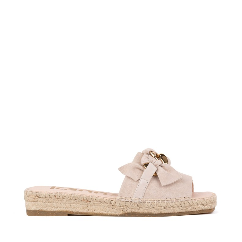 Yellow jute wedge