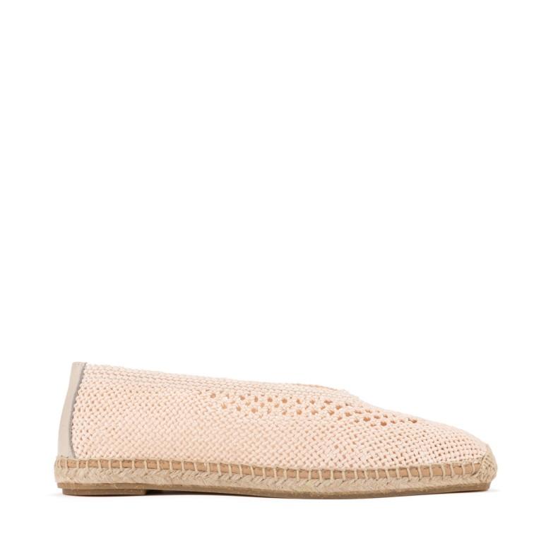 Sandalia alta bronce